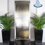 Giant 1.74m Stainless Steel Water Wall Cascade
