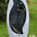 Kiss Water Feature - Granite Effect with LED Lights