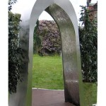 Giant Wonder Arch Stainless Steel Water Feature
